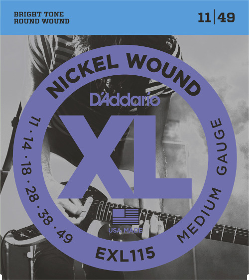 D´Addario EXL115 E-Gitarre, Blues/Jazz Rock (011 - 049)