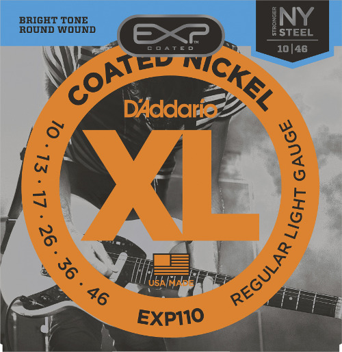 D´Addario EXP110 E-Gitarre - regular light (010-046)
