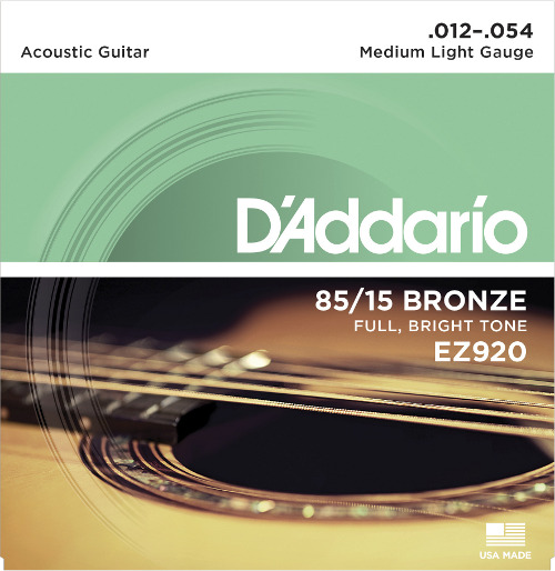 D´Addario EZ920 American Bronze Westerngitarre, medium light (012 - 054)