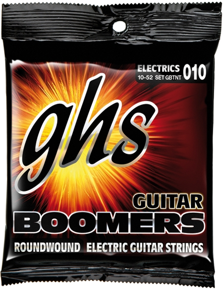 GHS Boomers TNT E-Gitarre, thin / thick (010 - 052)