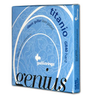 Galli Genius Titanio GR40 Konzertgitarre, hard tension