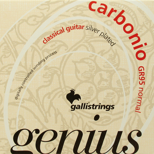 Galli Genius Carbonio GR95 Konzertgitarre, normal tension