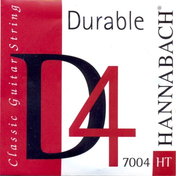 "Hannabach 7004 HT - ""Durable"" - d4 Konzertgitarre, high"
