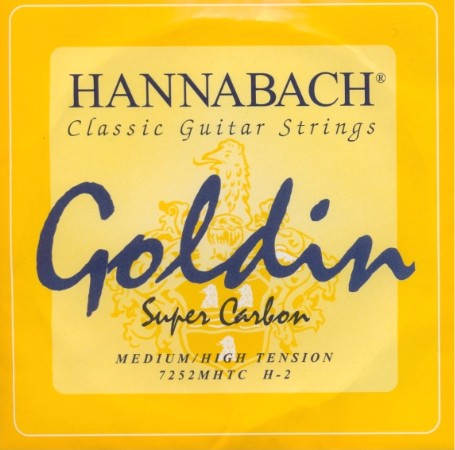 Hannabach 7252 'Goldin' - h2 Konzertgitarre - medium/high