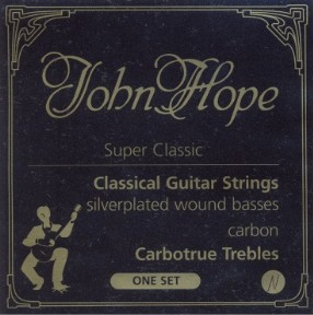 John Hope Super classic Carbotrue JH 047 Konzertgitarre, medium