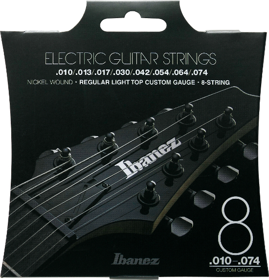 Ibanez IEGS81 Nickel wound E-Gitarre 8-string, regular light (010-074)