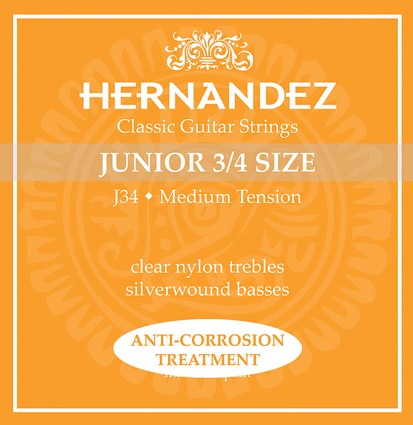 Hernandez J34 3/4-Gitarre, medium tension