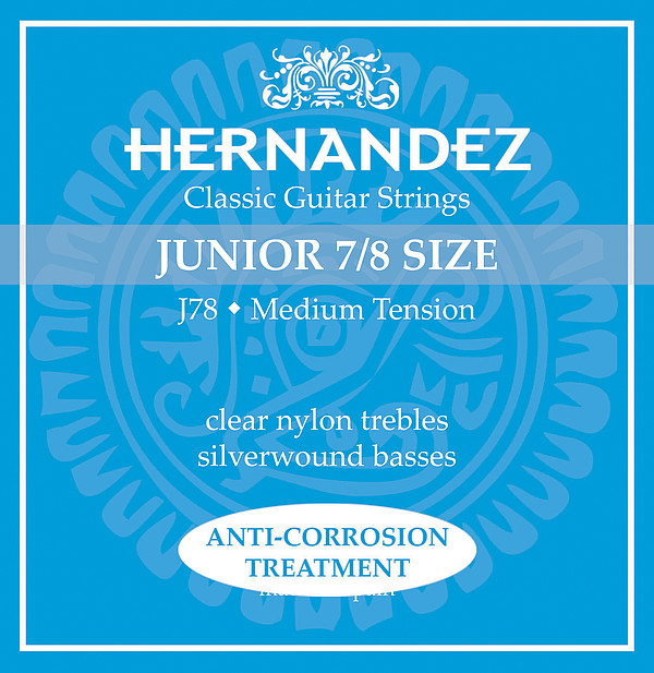 Hernandez J78 7/8-Gitarre, medium tension