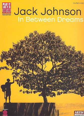 Jack Johnson: In Between Dreams Sonbook voc/guit/tab