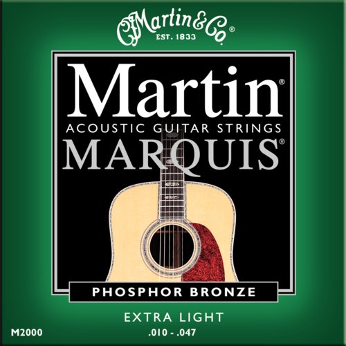 Martin Marquis M2000 - Phosphor Bronze Westerngitarre, extra light (010 - 047)