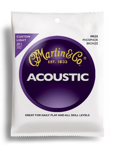 Martin Phosphor Bronze M535 Westerngitarre, custom light (011 - 052)