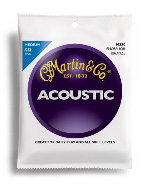 Martin Phosphor Bronze M550 Westerngitarre, medium (013 - 056)