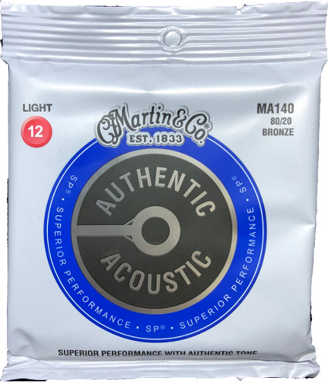 Martin Bronze MA140 Superior Performance Westerngitarre, light (012 - 054)