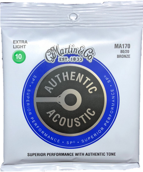 Martin Bronze MA170 Superior Performance Westerngitarre, extra light (010-047)