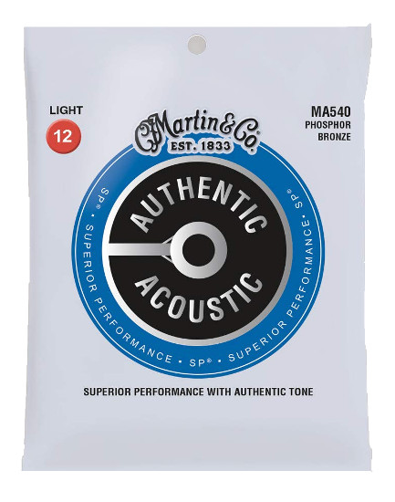 Martin Phosphor Bronze MA540 Superior Performance Westerngitarre, light (012-054)