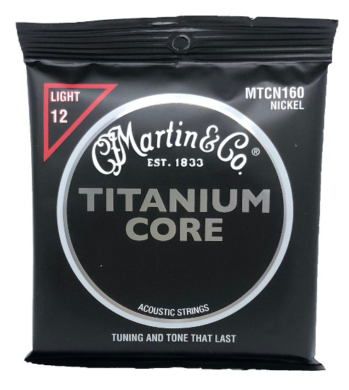 Martin Titanium Core MTCN160 Nickel Westerngitarre, light (012 - 055)
