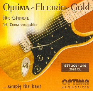 Optima 2028 Gold CL E-Gitarre, custom light (009-046)
