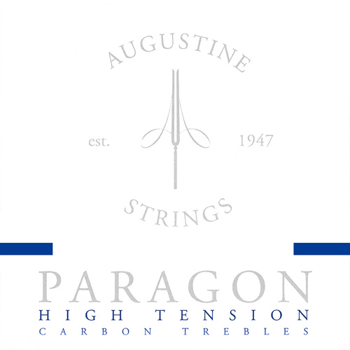 Augustine Paragon blue - Carbonsaiten Konzertgitarre, high tension