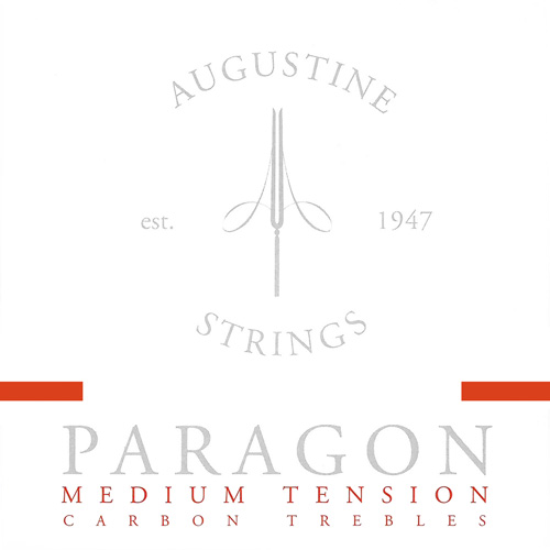 Augustine Paragon red - Carbonsaiten Konzertgitarre, medium tension