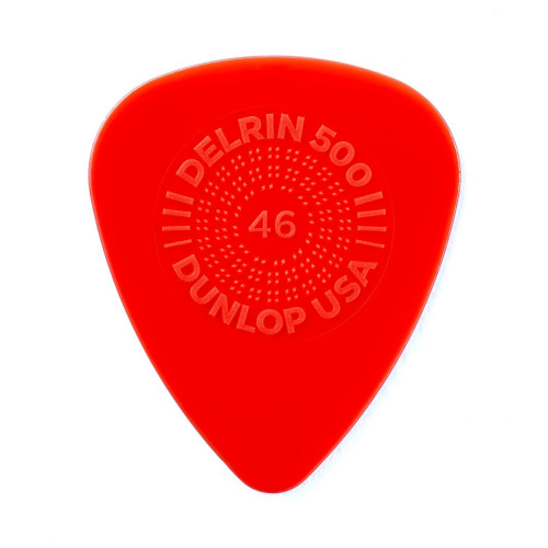 Dunlop Prime Grip Delrin 500 0,46 mm - rot
