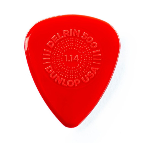 Dunlop Prime Grip Delrin 500 1,14 mm - rot