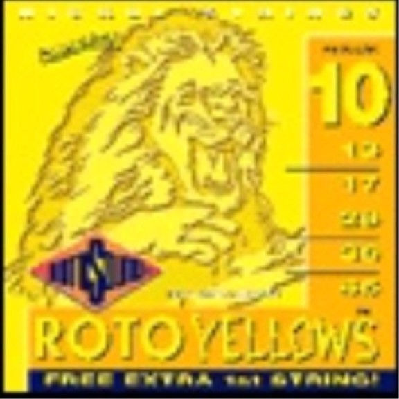 Roto Yellows - R10 E-Gitarre, regular (010 - 046)