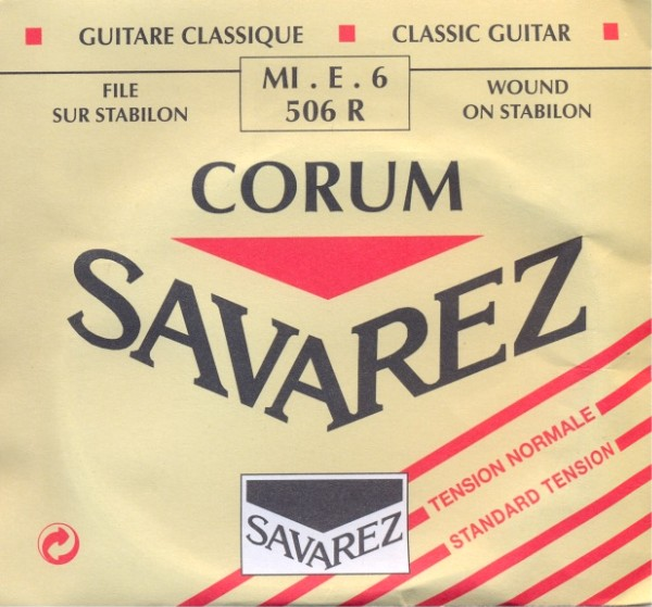 Savarez 506 R - E6 Konzertgitarre, normal tension