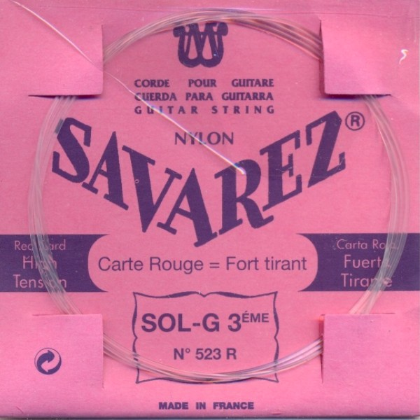 Savarez 523 R - g3 Konzertgitarre, normal tension