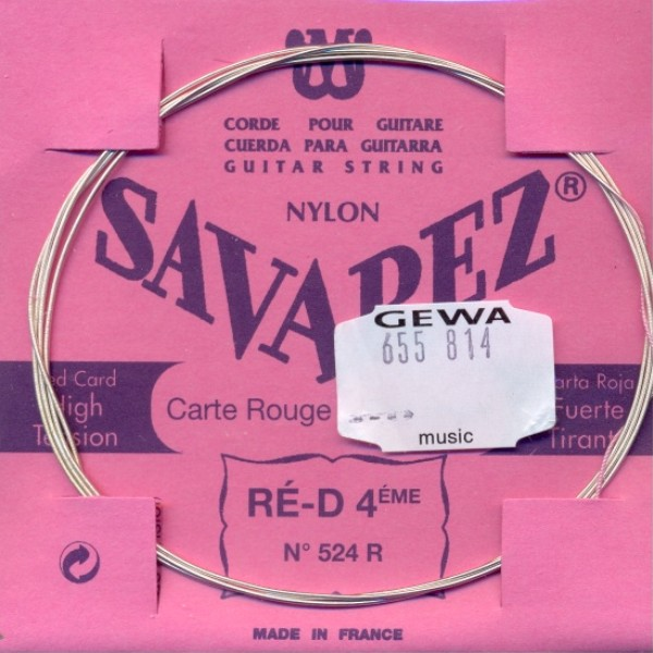 Savarez 524 R - d4 Konzertgitarre, normal tension
