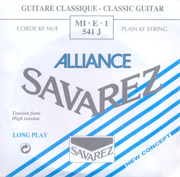 Savarez 541 J - e1 Konzertgitarre, high tension