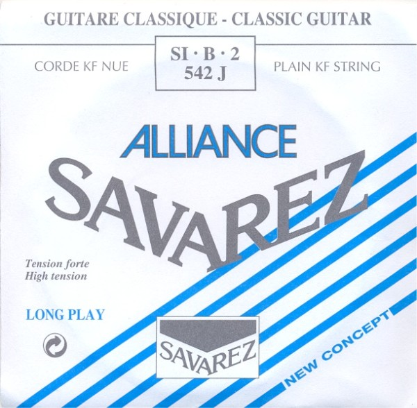 Savarez 542 J - h2 Konzertgitarre, high tension