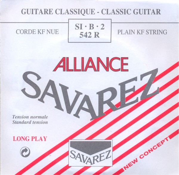 Savarez 542 R - h2 Konzertgitarre, normal tension