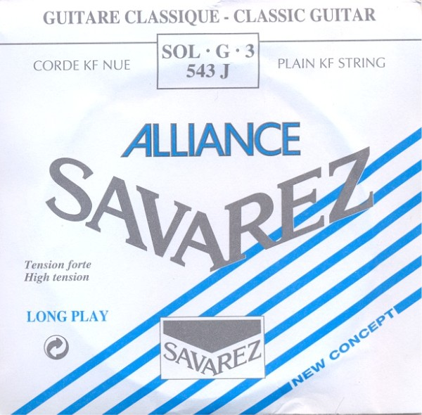 Savarez 543 J - g3 Konzertgitarre, high tension