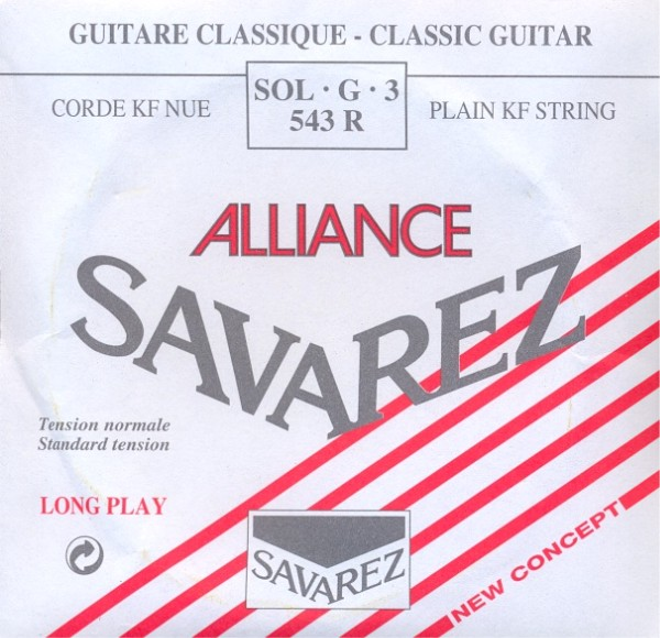 Savarez 543 R - g3 Konzertgitarre, normal tension