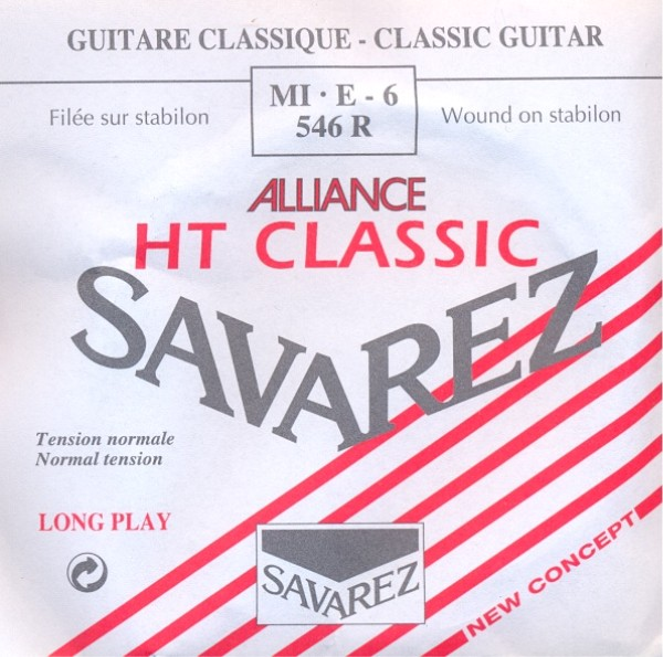 Savarez 546 R - E6 Konzertgitarre, normal tension