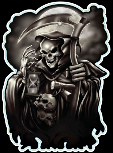 Guitar Tattoo - Planet Waves Grim Reaper - GT77005