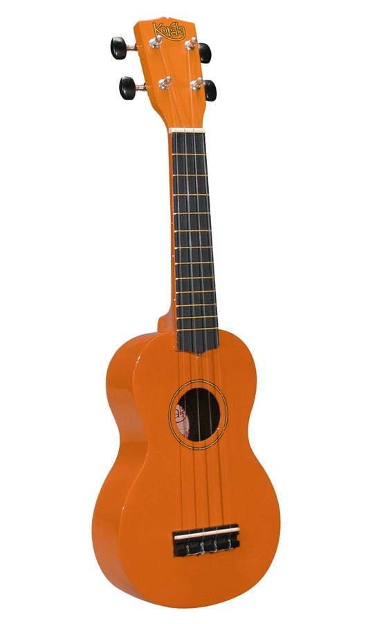 Korala UKS-30-OR Sopranukulele, orange, mit Tasche