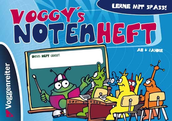 Voggy´s Notenheft Notenheft mit Musiktheorie