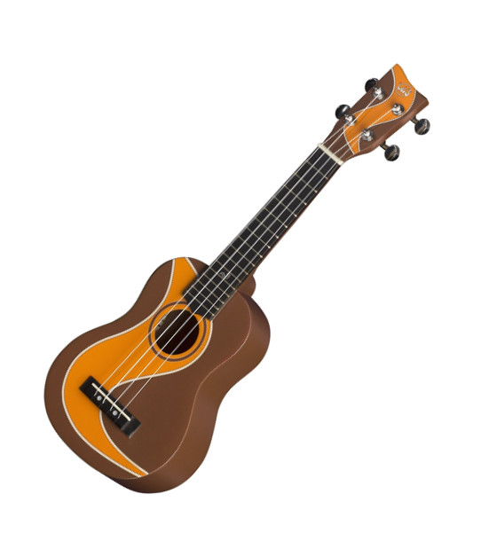 VGS Manoa Waimea W-SO-BR Sopranukulele, Sapelli, mit Gig Bag