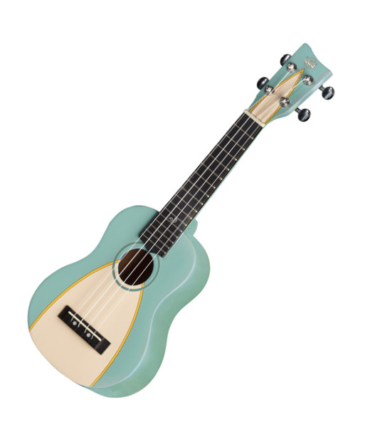 VGS Manoa Waimea W-SO-GR Sopranukulele, Sapelli, mit Gig Bag