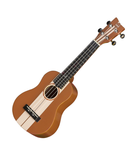 VGS Manoa Waimea W-SO-OR Sopranukulele, Sapelli, mit Gig Bag