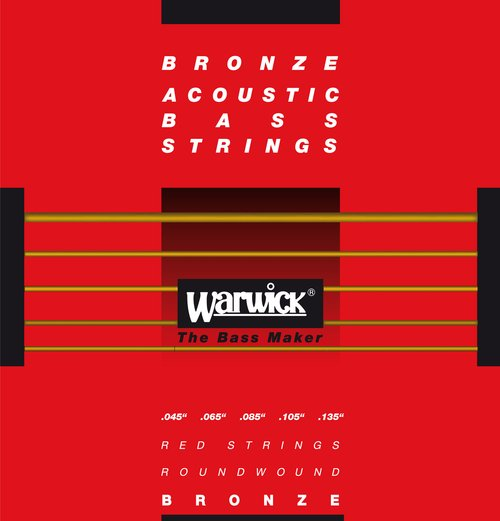 Warwick Red Strings 35301 Akustikbass 5-string (045-135)