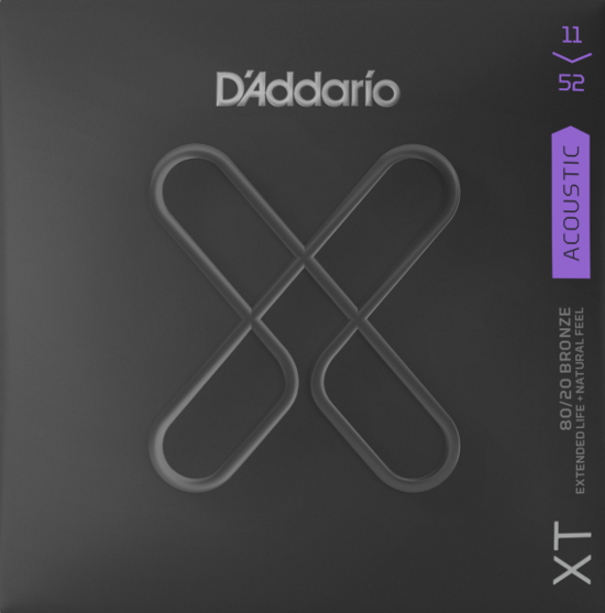 D´Addario XTABR1152 Bronze Westerngitarre, custom light (011-052)