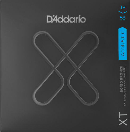 D´Addario XTABR1253 Bronze Westerngitarre, light (012-053)