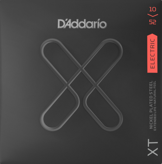 D´Addario XTE1052 E-Gitarre, regular top/heavy bottom (010-052)