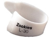 Dunlop Thumbpicks Zookies L30 weiß - large - 30°