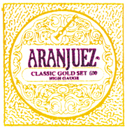Aranjuez 600 classic gold Konzertgitarre, high