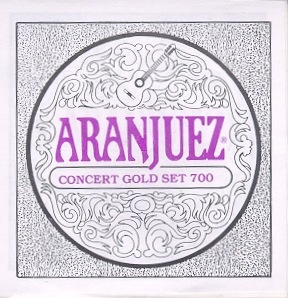 Aranjuez 700 concert gold Konzertgitarre, low