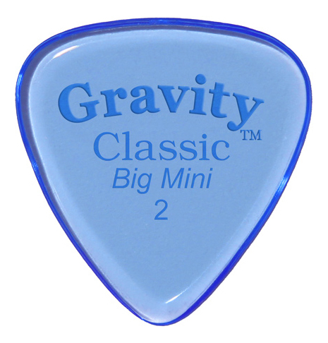 Gravity Classic Big Mini 2,0 mm - blau