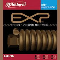 D´Addario EXP16 Phosphor Bronze Westerngitarre, light (012 - 053)